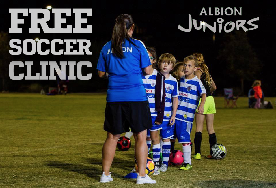 Albion Juniors Clinics